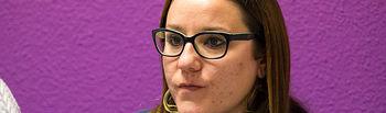 María Díaz, secretaria de Organización de Podemos C-LM