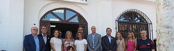 Visita de la consejera de Bienestar Social, Aurelia Sánchez, al stand de ASPRONA en la Feria de Albacete 2017