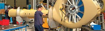 Fábrica Eurocopter en Albacete. Imagen de archivo.