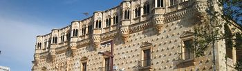 Palacio del Infantado en Guadalajara. Foto de Archivo.
