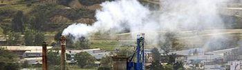 Chimenea - Medio Ambiente. Foto: EFE