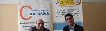 CLM Inclusiva y AECEMCO CLM firman un acuerdo para promover oportunidades de formación y empleo