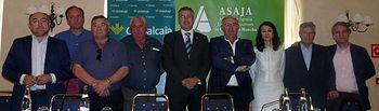 Globalcaja y las organizaciones provinciales de ASAJA CLM firman un convenio de colaboración para favorecer el crecimiento del sector agrario de la región. Foto: ASAJA CLM.