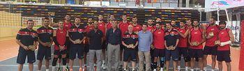 Guadalajara acoge a la selección española de voleibol hasta el 7 de septiembre