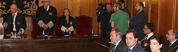 El presidente de la Diputación asiste a la toma de posesión de siete nuevos jueces para Castilla-La Mancha