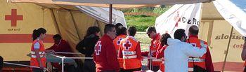 Los equipos de ayuda psicológica de Cruz Roja atendieron a las víctimas y familiares de situaciones de emergencia en 39 ocasiones durante 2015. Foto: JCCM.
