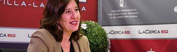 Blanca Fernández, portavoz del Gobierno de Castilla-La Mancha y consejera de Igualdad de la JCCM. Foto: Manuel Lozano Garcia / La Cerca