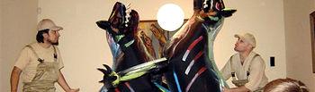 La exposición 'Miguel Prieto 1907-1956. La armonía y la furia', que organiza la empresa pública Don Quijote de la Mancha en colaboración de la Sociedad Estatal de Conmemoraciones Culturales, cierra sus puertas.