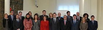 El presidente recibe a la candidatura Madrid 2020. Foto: Pool Moncloa.