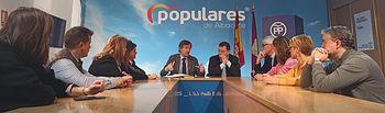 El vicesecretario general de Política Territorial del PP, Antonio González Terol, mantiene una reunión con el Grupo Popular.