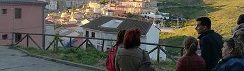 PODEMOS visita el barrio de Tiradores Altos.