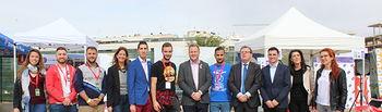 El alcalde saludó a los jóvenes que participan en el 'Intercampus 2019'