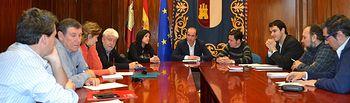 Alberto Rojo se reúne con el secretario de Organización regional y los secretarios provinciales de todas las federaciones del sindicato