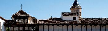 Plaza Mayor de Tembleque (Toledo), declarada de Interés Histórico Artístico.