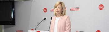 Ana Isabel Abengózar, portavoz del grupo socialista en las Cortes de Castilla-La Mancha.
