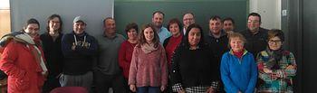Alumnos del curso de formación para el empleo de Nerpio.