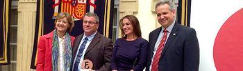 García Tejerina entrega Premio Economía. Foto: Ministerio de Agricultura, Alimentación y Medio Ambiente