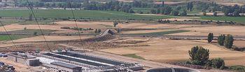 Adjudicación obras colector Río Ubierna, Burgos. Foto: Ministerio de Agricultura, Alimentación y Medio Ambiente