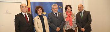 El consejero de Educación, Cultura y Deportes, Ángel Felpeto, inaugura, el seminario 'Promoviendo la reducción del abandono escolar prematuro, desde las políticas públicas de Empleo y Educación'