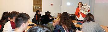 'El Periodismo en la Escuela' es un proyecto patrocinado por la Diputación Provincial de Albacete e impartido por una asociada de la APAB.