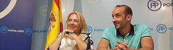 Aure Hormaechea y Luis Núñez.