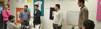 Modesto Belinchón comparte su proyecto para dinamizar la economía de Albacete con la Junta Directiva de AJE