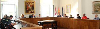 El subdelegado del Gobierno presidió la Junta Local de Seguridad de Caudete.