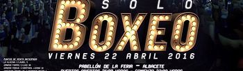 Cartel velada 22 de abril-Albacete