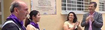 Descubrimiento de una placa en Taracena, en recuerdo a Camilo José Cela