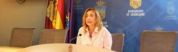 Encarnación Jiménez, teniente de alcelde del Ayuntamiento de Guadalajara.