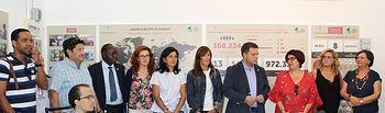 Inauguración de la muestra 'Desde Albacete al mundo'