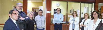 El CRMF recibe la visita de la Secretaria de Estado de Servicios Sociales y del Director General del IMSERSO