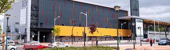 El nuevo centro Vialia Estación Los Llanos de Albacete ha supuesto una inversión del Gobierno de España de 48 millones de euros. En la imagen, fachada principal de la Estación de Albacete.