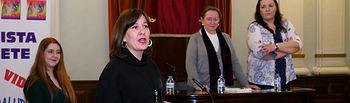 Blanca Fernández, consejera de Igualad y portavoz del Gobierno de Castilla-La Mancha. Foto: Manuel Lozano García / La Cerca