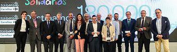 Carrefour y su Fundación donan 180.000 euros a seis ONG