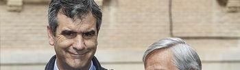 Comparecencia sobre Proyecto en el antiguo edificio de Correos, Javier Cuesta, presidente de correos