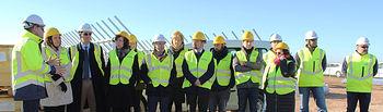 Comienzan las obras de las instalaciones de 4 plantas fotovoltaicas en Alcázar. Foto: Ayuntamiento de Alcázar de San Juan.