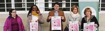 Navarro anima a la participación en la 5ª Carrera Popular del Barrio San Antonio Abad y el Zumba contra la Violencia de Género.