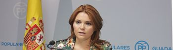 La senadora del PP Marta Valdenebro.