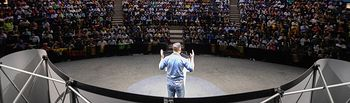Santiago Abascal en Santander. Foto:  Santiago Abascal @Santi_ABASCAL.