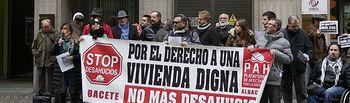 Concentración Bankia.