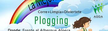 'Plogging' en el Parque Natural de 'La Mejorada' en Alpera.