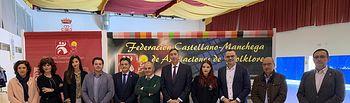 Acto de inauguración de la XXII edición de las Jornadas Regionales de Folklore   .