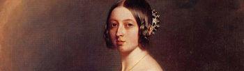 Retrato de Isabel II de España, 1851, por Federico Madrazo.