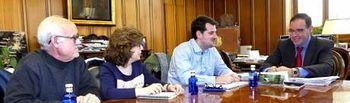 Reunión UGT Cuenca con Pte Diputación.