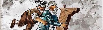 La visión satírica de José Luis Samper sobre el Ingenioso Hidalgo llega a Daimiel con la muestra 'El Quijote de Samper'