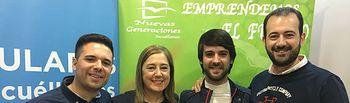 Carlos Espinosa sucederá a José Carlos Cobo en la presidencia de Nuevas Generaciones de Socuéllamos.