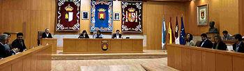 Pleno Ayuntamiento de Talavera.  Foto:  PP Talavera @pp_talavera.