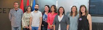 Presentación moción conjunta de IU/PSOE, solicitando al Pleno que apruebe la Resolución adoptada por el Consejo Municipal de la Mujer de Albacete