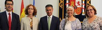 Toma de posesión de María Ángeles Herreros como subdelegada del Gobierno en Ciudad Real.